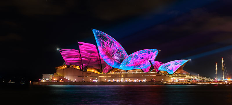 Vivid Sydney Magistic Dinner Cruise