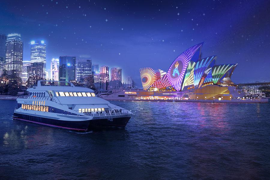 Magistic vivid sydney cruise