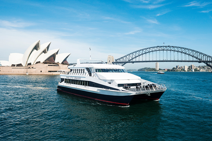 Magistic Sydney Harbour Lunch Cruise