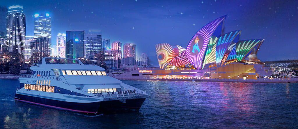 Sydney vivid cruise