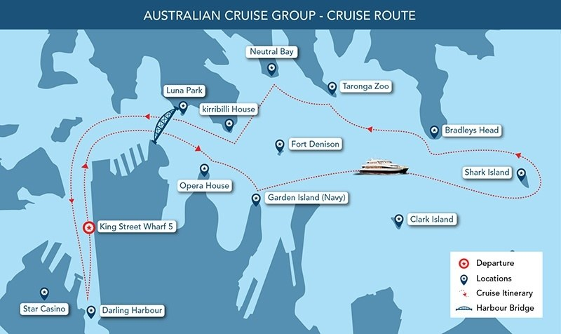 Sydney Harbour Cruises Save Up To Magistic Cruises - Cruise ship locater