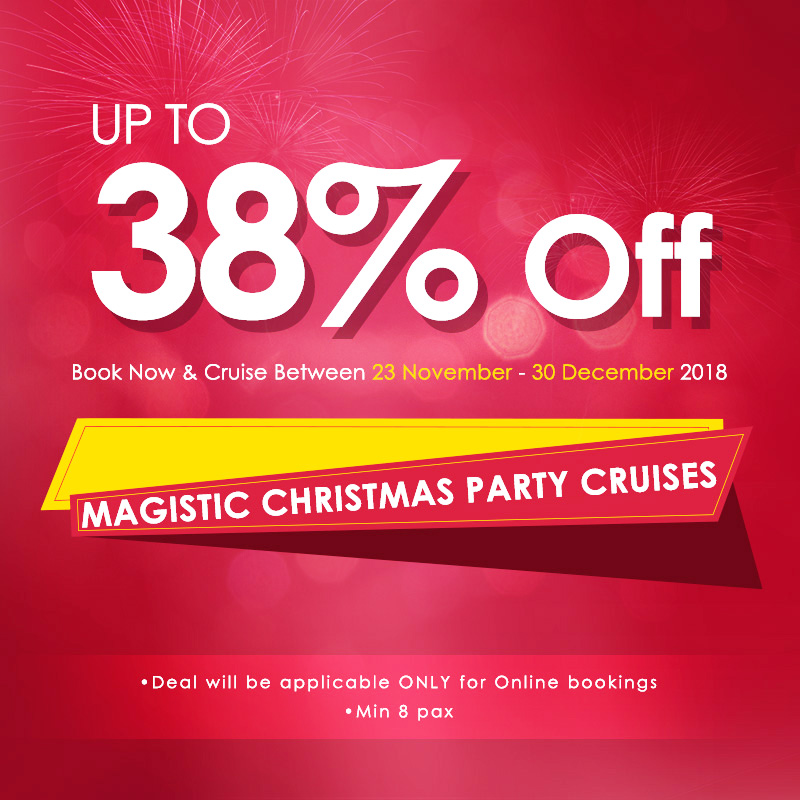 Magistic Christmas party cruise